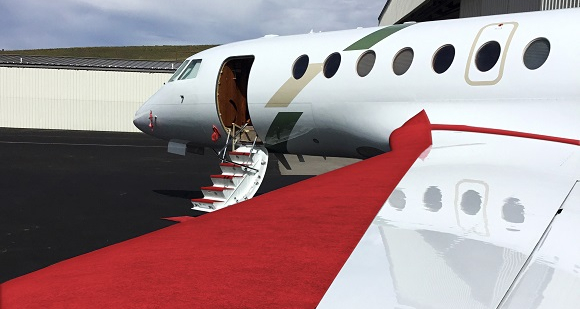 floor and stair protection for aircraft