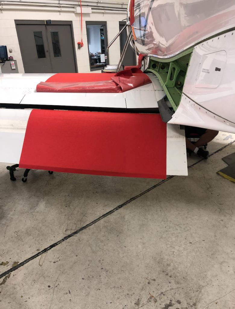 aircraft masking