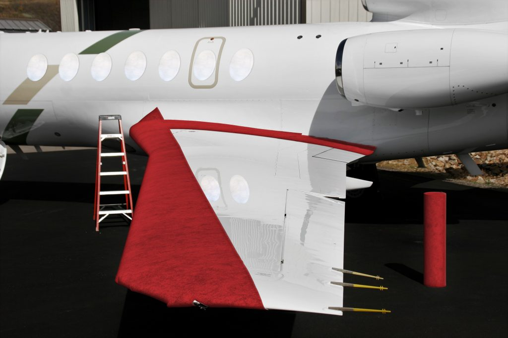 aircraft window protection and leading edge protection